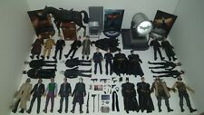 HUGE 28 figure Batman Movie Masters LOT w/ CUSTOMS Dark Knight Rises Bat Signal
