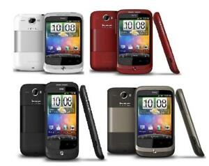 HTC Wildfire Black Mocha Red White Silver Android Smartphone - Warranty