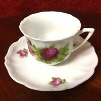 Vintage Czechoslovakian Cup and Saucer