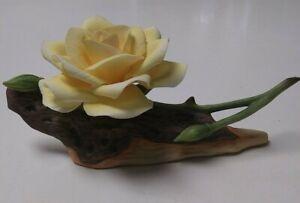 Boehm Porcelain Yellow Rose