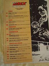 Vintage Original Super Bmx & Freestyle Vol 14 No 11 Nov 1987 Bmx Freestyle