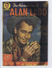 Adventures of Alan Ladd #1 Simcoe 1950 CANADIAN EDITION