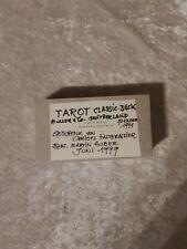 Tarot Classic Deck, Tarot-Karten, Stuart R. Kaplan, Esoterik, Magie, Orakel