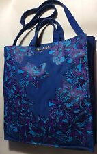 Marc By Marc Jacob Women's Blue Fabric  Tote Shopper