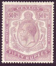 1924 CEYLON SG 358 MLH OG CV £700