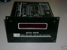 ECCI MKT-106 ACCU-RATE DIGITAL RATE INDICATOR DISPLAY FACTOR X 10
