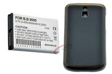 BLACKBERRY BOLD 9000, 2500 MAH WITH EXTENDED BATTERY COVER