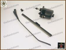 WILLYS JEEP Windshield Wiper + Motor Kit IN 12 VOLT( FITS SEE DESCRIPTION)