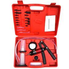 Hand Held Vacuum And Pressure Pump Tester Kit Brake Bleeder Set For Car E4K2