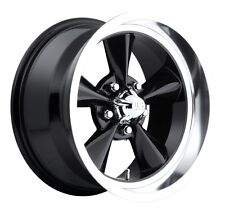 15x8 Us Mag Standard U107 5x4.5 et1 Black Gloss Wheels (Set of 4)