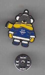 PyeongChang 2018 South Korea Olympics mascot- pin/badge