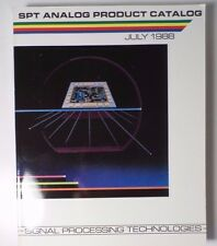 1988 SPT Analog Product Catalog A to D, D to A Converters. Comparators & Filters
