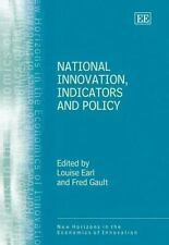 National Innovation Indicators And Policy (New Horizons in the Economics of Inno