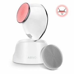 AEVO Facial Cleansing Brush 6X Deeper Cleanse Heated Massager Sonic Vibrations