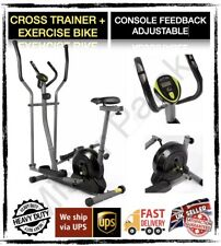 Opti Magnetic 2 in 1 Cross Trainer and Exercise Bike 🌏 🇬🇧 🇮🇪