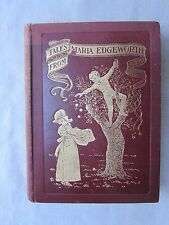Old Antique Book Tales From Maria Edgeworth by Austin Dobson 1903 GC