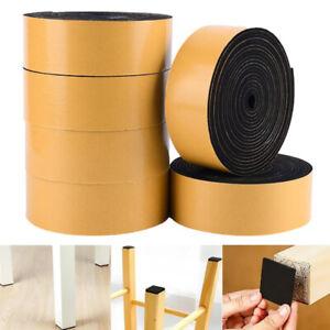 Self Adhesive Waterproof Sealing Strip Tape Sound Insulation Foam Sponge Tape