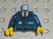Buste personnage LEGO TRAIN minifig torso 973px402 /Set 7997 7897 4511 7937 7938