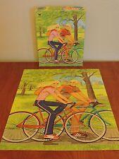 Vintage Barbie on Wheels Puzzle Whitman 1982 Ken Bike 100 pieces Complete 1980s