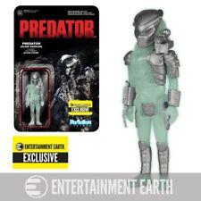 "Funko Predator ReAction Predator 3 3/4"" Action Figure Glow in Dark Version EE"