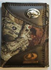 ZEP PRO Bass Fish MOSSY OAK Camo Trifold Wallet TIN GIFT BOX