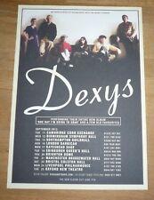 DEXYS (UK Concert Tour Flyer 2012) formerly Dexys MR