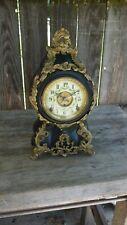 kroeber clock co. new york fancy parlor clock ,louis xiv th. model
