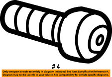 6035898, Jeep CHRYSLER OEM 97-06 Wrangler Windshield-Hinge Bolt