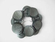 10 knöpfe buttons vintage antik grün grau granit structure art deco 1930 1950