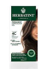 HERBATINT Tinta per capelli naturale alle erbe CENERE CASTANO 4C 150ml -