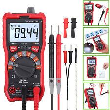 Auto Range Digital Multimeter 6000 Counts DC AC Voltage Current Meter Tester UK