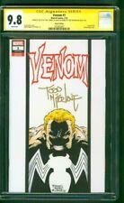 Venom 1 CGC 9.8 2XSS Todd McFarlane Torres Original art Sketch Spider Man Movie