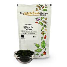 Bio Chlorella Comprimés 250's   Acheter Whole Foods En Ligne   Gratuit UK p&p