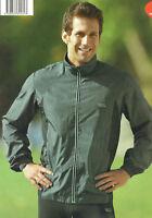 Herren Laufjacke Walkingjacke Sportjacke Jacke atmungsaktiv wind/wasserabweisend