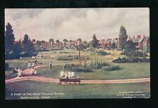 Essex BARKINGSIDE Dr Barnados Girls Homes Gardens Used 1910 PPC
