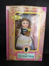 Mary Mary Quite Contrary Bookcase Collectible Dolls Nib New Bright Collection