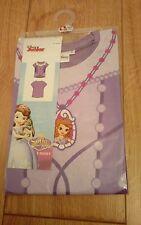 New Disney Junior Disney Princess Sofia the First Purple T-Shirt age 4/5 Years