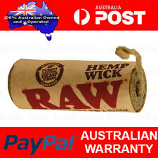 Raw Wick 6m Natural Unbleached Lighter Beeswax Roll 20ft Rolling Smoking Paper