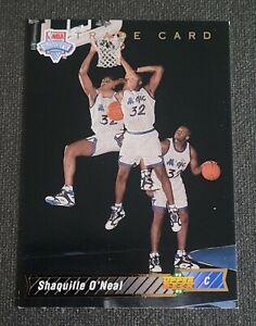 1992-93 Upper Deck #1B Shaquille O'Neal TRADE JCC