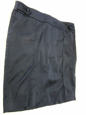 2B bebe Black Pencil SKIRT Fitted Work Office School Casual LOW Waist Size S