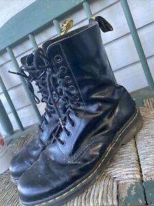 Doc Martens 1490 Black Boots Mens 10M  (see pics)