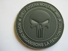 ECUSSON EN PVC DES COMMANDOS PUNISHER SUR VELCROS