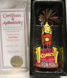 Kooky Kollectibles Marvel Comics Iron Man Limited Edition Pen 1 of 500 Case COA