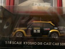 KYOSHO 1:18 FIAT 131 ABARTH RALLY NEW ZELAND