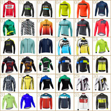 New long sleeve cycling jersey 2020 Mens breathable Team bike shirts racing tops