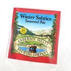 Anderson Valley Brewing Co Winter Solstice Seasonal Ale Acrylic Beer Tap Handle
