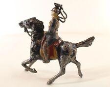 GM Georges Munckle Frankreich Ulanen Deutsch Zu Pferd Blei Hohl 48 MM, 1920 RAR