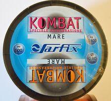 1 BOBINA MONOFILO SARFIX KOMBAT DIAMETRO 0,60 MT 500 KG 32,40 SILURO SURF -SFX03
