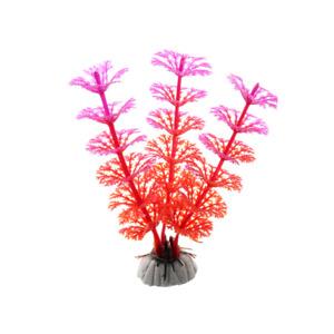 12 cm PVC Aquarium Red Pink Plant Flower Water Fish Tank Aqua Decoration