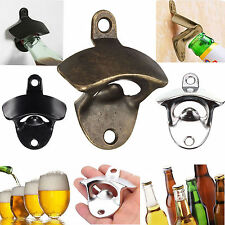 Wall Mount Open Club Wine Beer Soda Glass Cap Bottle Opener Kitchen Bars Gift